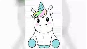 Resultado De Imagen Para Unicornios Kawaii Como Dibujar Un Unicornio Unicornio Kawaii