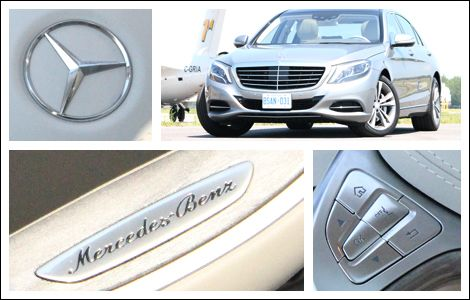 2014 Mercedes-Benz S-Class Review | Auto123.com - For generations, the S-Class has been Mercedes' affluence-targeting, top-line posh-rocket. Held by many as the benchmark in its class, it's a machine perpetually loaded with the automotive industry's latest and greatest. #mercedes #sclass #luxury #carreview