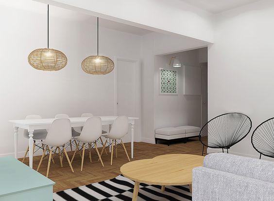 A Casa da Rita e do Pedro #livingroom #render #study #upcycled #storage #homedecor #furniture #interiors #interiordesign #homeinspiration #details #homesweethome #homestoriespt #umaobraumahistória