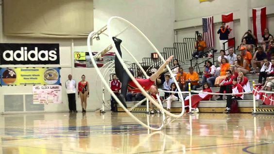 10th World Championships in Wheel Gymnastics   Day  4 Senior Men Spiral ...