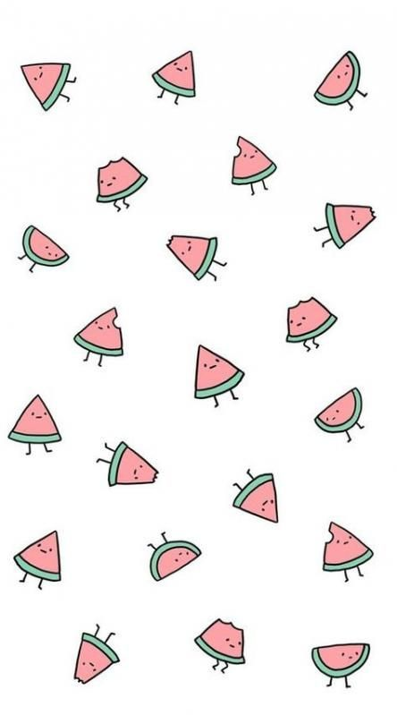 60 Super Ideas For Fruit Background Wallpapers Food Food Fruit Iphonecases Watermelon Wallpaper Wallpaper Iphone Cute Cute Patterns Wallpaper