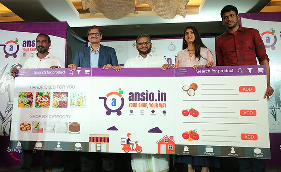 Actress Kasthuri Launches Ansio Marketplace Shopping App