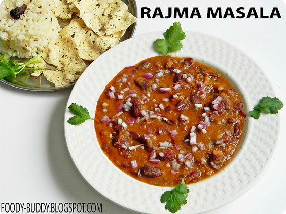 Rajma in Hindi literally means Red Kidney Beans. Rajma Masala is a classic Punjabi Curry, cooked in a onion and tomato gravy with the addition of Indian aromatic spices. The most important thing is to cook rajma perfect in pressure cooker or crock pot to get perfect rajma curry. This is a protein and carb packed food as it can be served with plain rice or cumin flavored rice or chapathi. Rajma chawal is a wonderful and comforting food for weekend lunch.