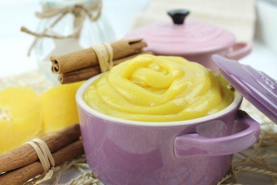 Cómo hacer una deliciosa crema pastelera sin huevo, sin leche, sin lactosa y sin gluten. Crema pastelera vegana baja en calorías para postres light.