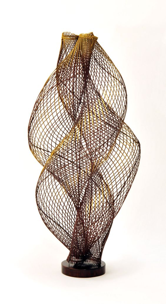 Ueno Masao  Strings    Artwork   Pinterest   Bambus, Skulptur und ...