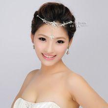 Nueva moda Tiara y corona novia accesorios para el cabello para la boda quinceañera pelo desfile