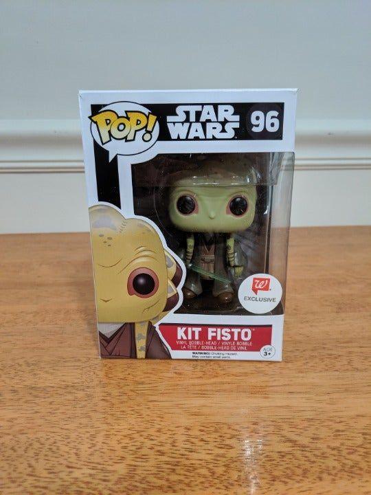Star Wars 96 Kit Fisto Exclusive Pop