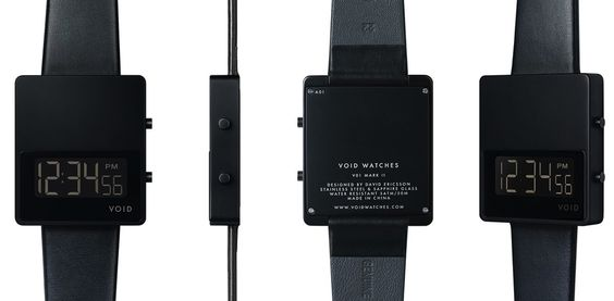 VOID V01MKII Square Digital LCD Watch