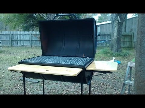 Bbq smoker build with octagon and hexagon - YouTube   Baby animals ...