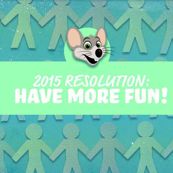 What ways are you going to have more fun this year?