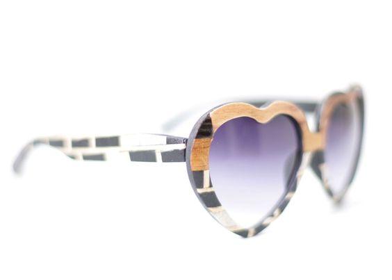 BRICK HOUSE 2 Lolita Heart Women's Sunglasses