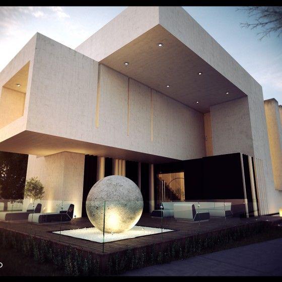 Creato arquitectos arquitectura pinterest house y - Arquitectos casas modernas ...