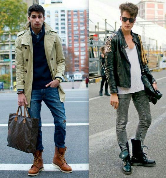 Muitos homens têm uma certa dúvida na hora de apostar em uma bota para o inverno, ou não sabem como combinar, ou acham que não dá muito certo com o estilo pessoal.