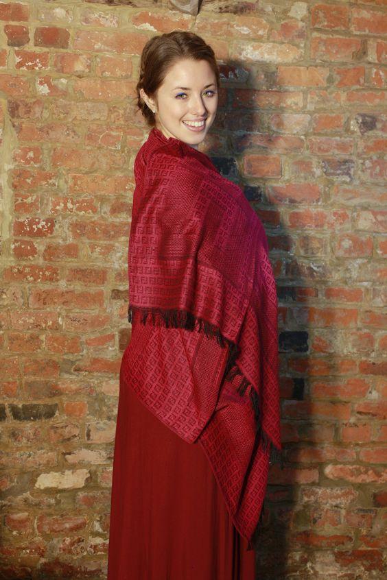 Find us on Facebook: www.facebook.com/WhiteHorseTextileDesigns    Model - Josie Ellis   Photographer - Steph Lanfear