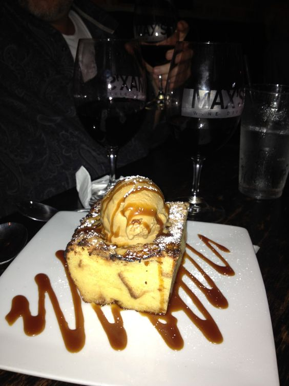 Crazy bread pudding at Max's Wine Dive - Houston...: