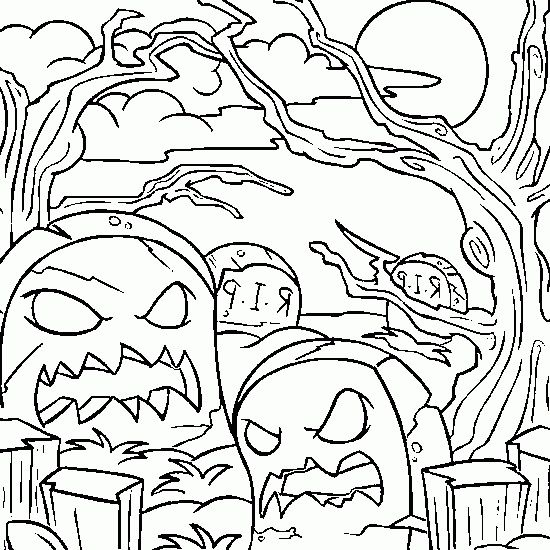 Coloriage Halloween Monstres Fantome Peur Fictional Characters
