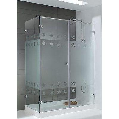 Puertas de vidrios templado para ba o duchas puerta plegable san diego san diego en - Vidrios para duchas ...