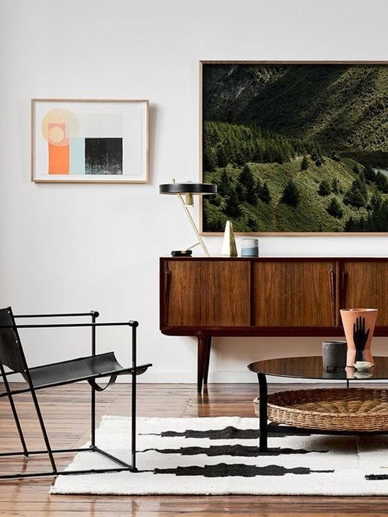 Area Rugs How To Tie A Room Together Mid Century Modern Living