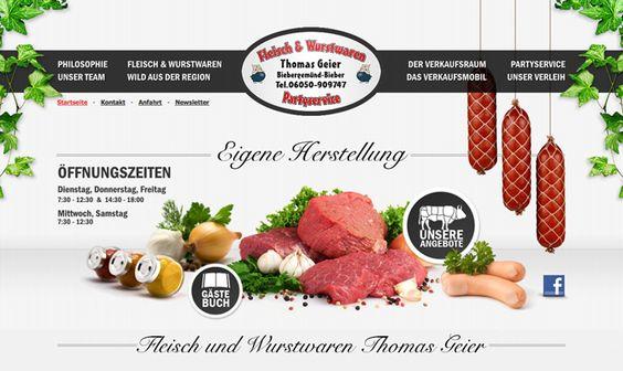 Fleisch- und Wurstwaren Thomas Geier ist Ihre traditionelle Fleischerei in Biebergemünd. Bei uns erhalten Sie Fleisch-und Wurstwaren aus eigener Herstellung.