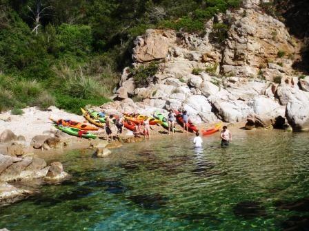 Caiac / Kayak - Hostal Es Trajo / Aventura Catalunya. Lloret de Mar, La Selva (Catalonia - Spain)