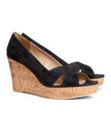 Wedge-heel Shoes