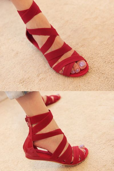 Awesome Red Shoes