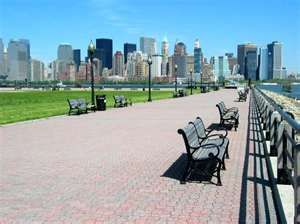 just a five min drive from Liberty State Park... this is my hometown, Jersey City
