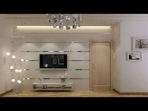 Stylish Media Wall Tv Unit Designs For Living Room Youtube Tv Wall Unit Wall Unit Designs Wall Tv Unit Design