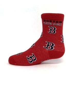 Boston Red Sox Socks for Kids by For Bare Feet, $8.00
