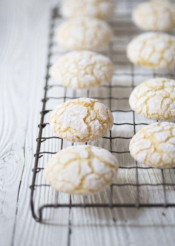 ... biscotti crinkle cookies lemon biscuits almonds lemon cookies biscuits