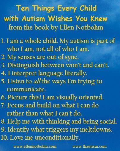 The best book on Autism i've ever read and more than once !