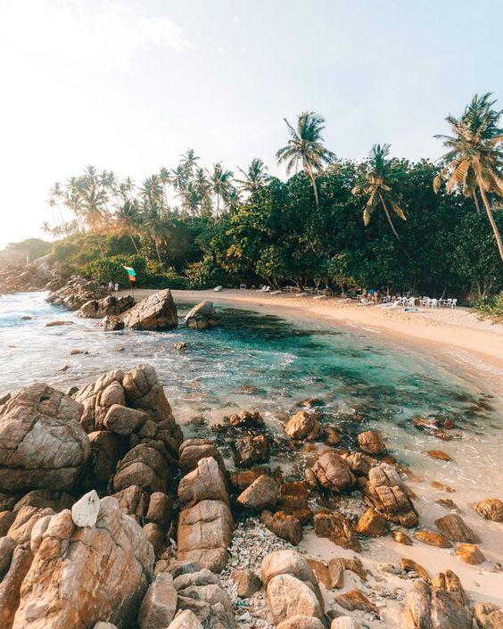Paradise Beaches in Sri Lanka #SriLanka