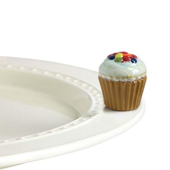 The Paper Store nora fleming™ mini Cupcake Platter Ornament #thepaperstore #norafleming #cupcake
