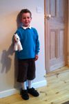Tintin - sweet costume idea for World Book Day - cute dog essential.  #costumes # costume #dressup #netmums