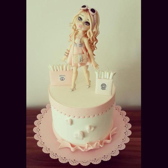 i love shopping  - Cake by tuba firat