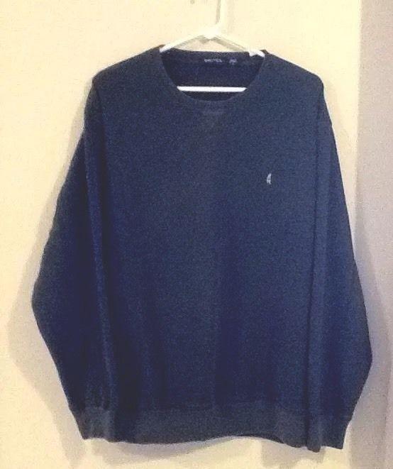 Men's Nautica Sweatshirt Sz LG Dark Green | eBay