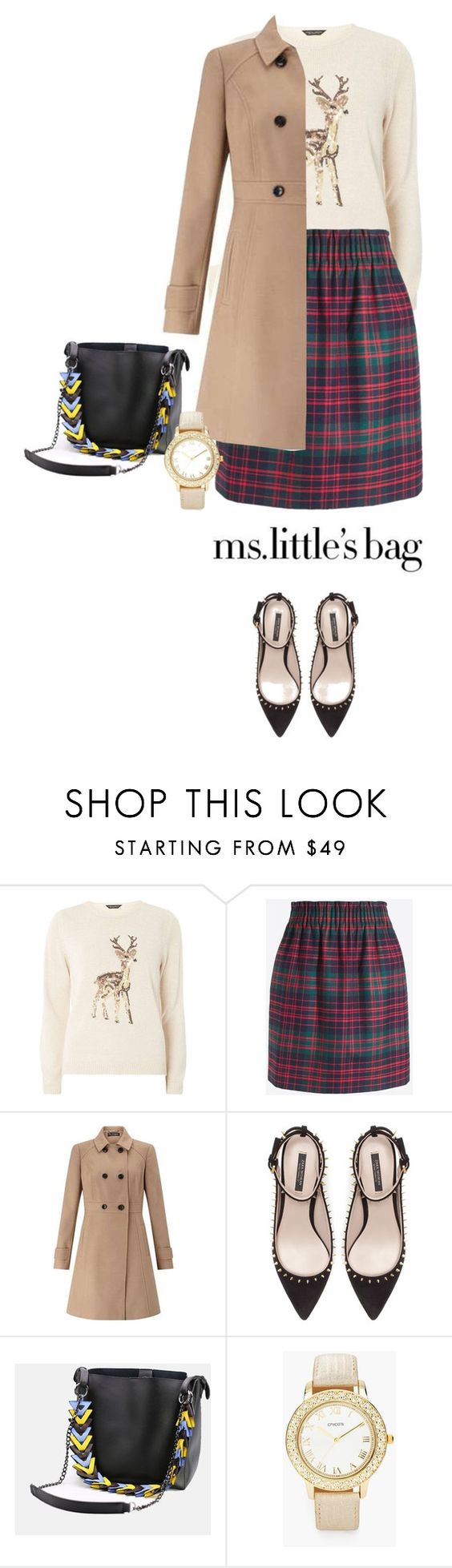 """""""Little Lady"""" by kts-desilva ❤ liked on Polyvore featuring Dorothy Perkins, J.Crew, Miss Selfridge, Zara and Chico's"""