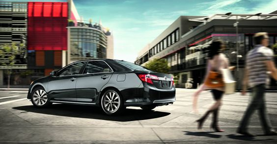 The 2012 Toyota Camry XLE 4-cylinder shown in Cosmic Gray Mica | http://sunshinetoyota.ca