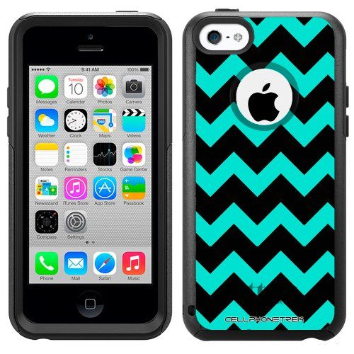 Otterbox Commuter Series Chevron Turquoise and Black Hybrid Case for Apple iPhone 5C TrekCovers http://www.amazon.com/dp/B00HVNXABK/ref=cm_sw_r_pi_dp_OfbXtb073MKAF3JE
