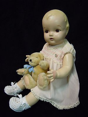 Vintage-Composition-Horsman-Baby-Doll-1930-40s-So-Sweet-22