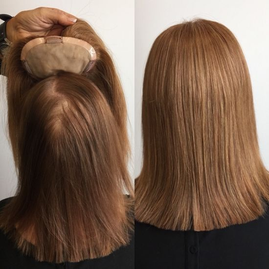 Real Human Hair Wigs Hairpieces For Thinning Hair | Hairstyles for thin hair,  Hair pieces, Wig hairstyles