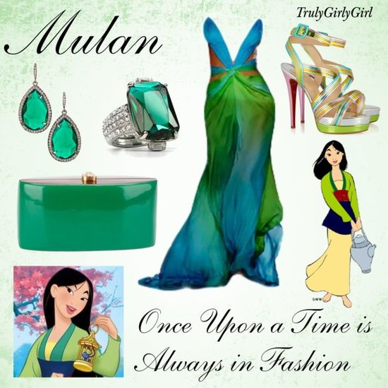 Mulan outfit - by trulygirlygirl