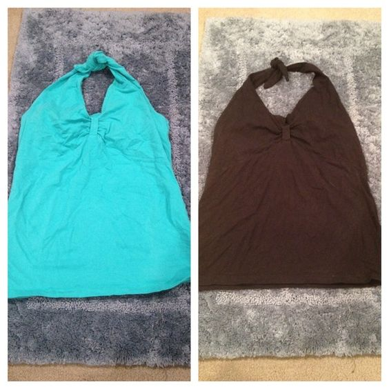 Halter Top Bundle  HP - Blogger Style Party 05/10/15  Consist Of:   Black Halter Top - $15   Turquoise Halter Top - $15   Both are True Large   Trades | Feel Free to Ask Questions | More  Upon Request | Bundles Are Welcomed ❤️| Jones New York Sport Tops Tank Tops
