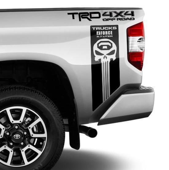 Dodge Ram 1500 2500 3500 TRUCK bed box stripe decal vinyl Sticker Graphic 042