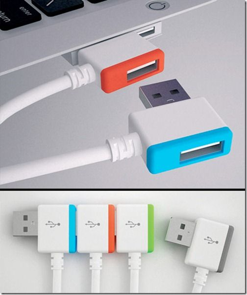 Infinite USB ...A new kind of USB plug-in, provides an USB port when occupies one. There is no limitation of the USB port of labtop anymore.