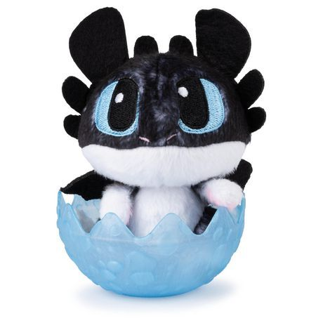 Dreamworks Dragons, Baby Nightlight 3-Inch Plush, Cute Collectible Plush Dragon In Egg, For Kid… | Baby night light, How train your dragon, How to train your dragon