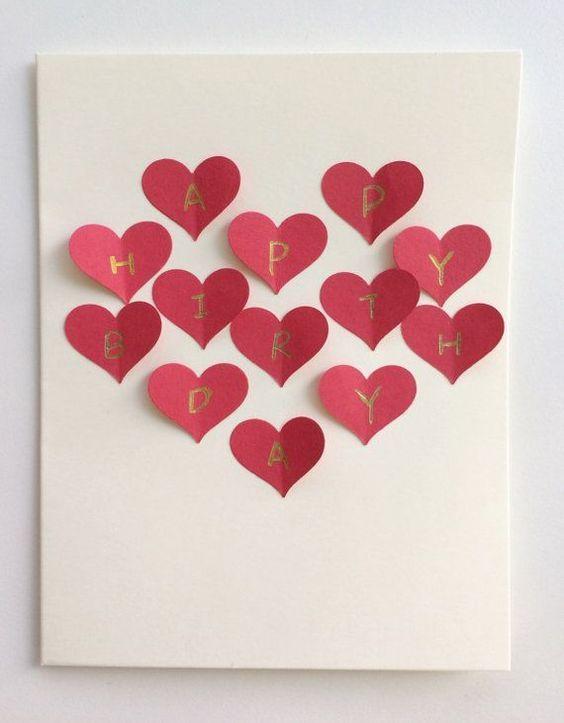 20 Awesome Homemade Birthday Card Ideas Crafty Club Diy Craft Ideas Diy Birthday Card For Boyfriend Birthday Cards For Girlfriend Handmade Birthday Cards
