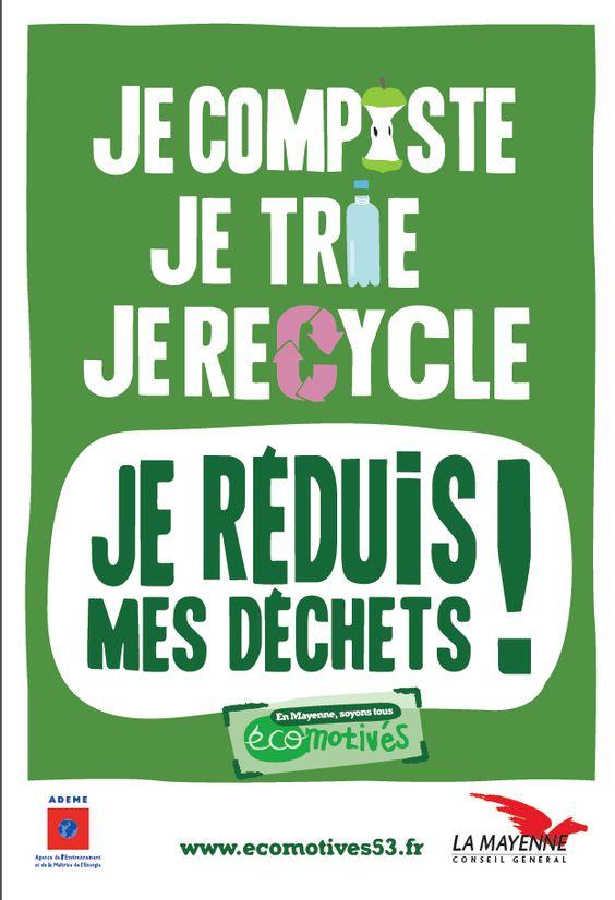CONSEIL GÉNÉRAL DE MAYENNE    Campagne pour la réduction des déchets: