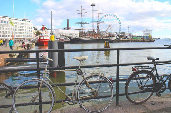 #Helsinki Harbor