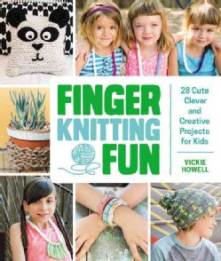 What can I make with this ball of yarn? Finger Knitting Fun is the answer! So quick and simple, a perfect project for children, learning how to knit with your fingers is the best way to start crafting